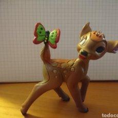 Figuras de Goma y PVC: FIGURA BAMBI MARIPOSA PVC COMICS SPAIN WALT DISNEY AÑOS 80. Lote 254616725