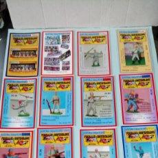 Figuras de Goma y PVC: COLECCIÓN DE TARJETAS FEDERALES Y CONFEDERADOS DE JECSAN.. Lote 254665120