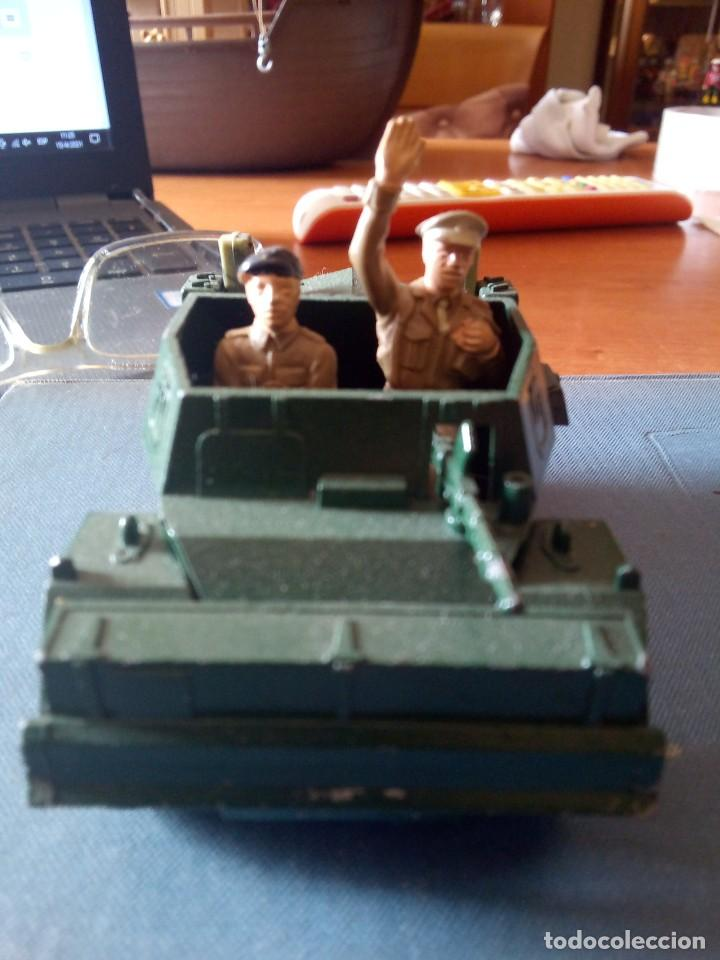 Figuras de Goma y PVC: Britains ltd Scout car MkII / BRITAINS DEETAIL - 1971 - SCOUT CAR DAIMLER MKII / BRITAINS INGLESES - Foto 2 - 254694050
