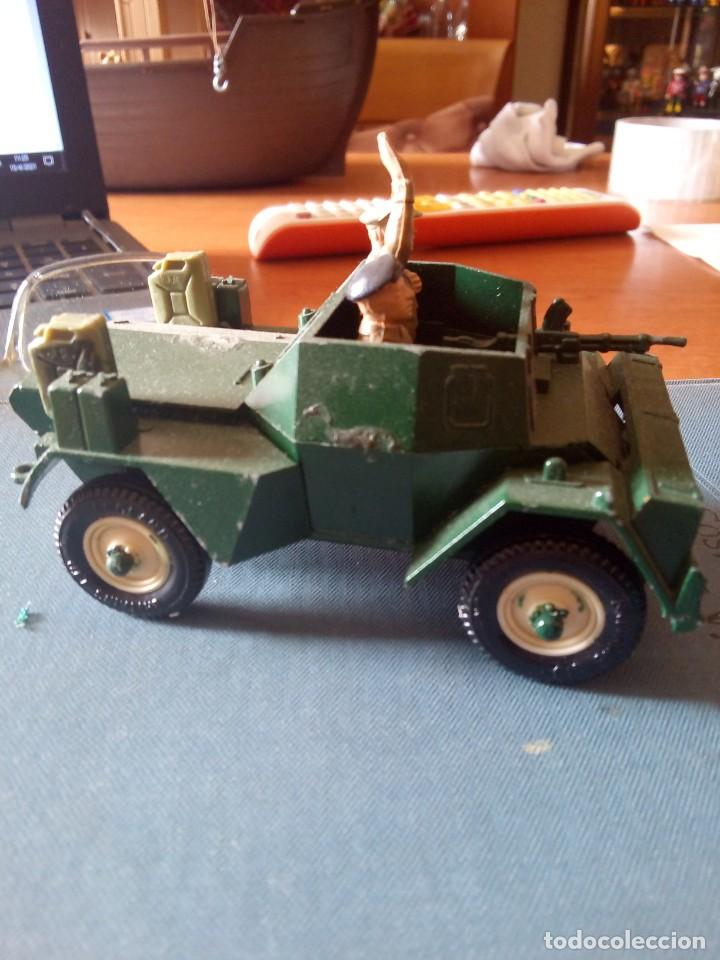 Figuras de Goma y PVC: Britains ltd Scout car MkII / BRITAINS DEETAIL - 1971 - SCOUT CAR DAIMLER MKII / BRITAINS INGLESES - Foto 3 - 254694050