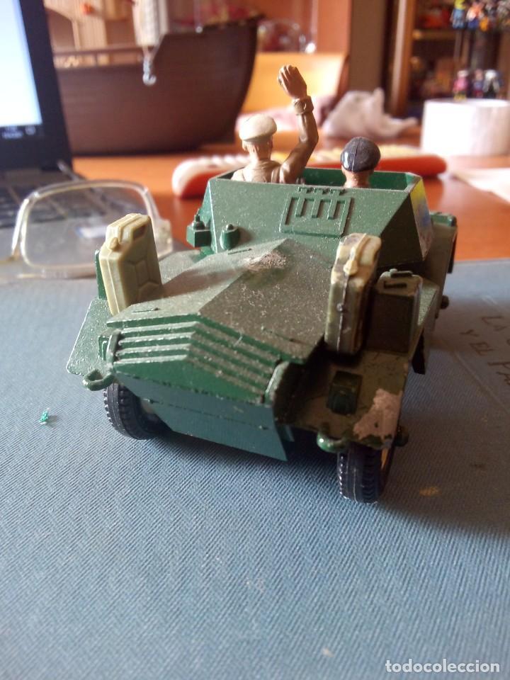 Figuras de Goma y PVC: Britains ltd Scout car MkII / BRITAINS DEETAIL - 1971 - SCOUT CAR DAIMLER MKII / BRITAINS INGLESES - Foto 4 - 254694050