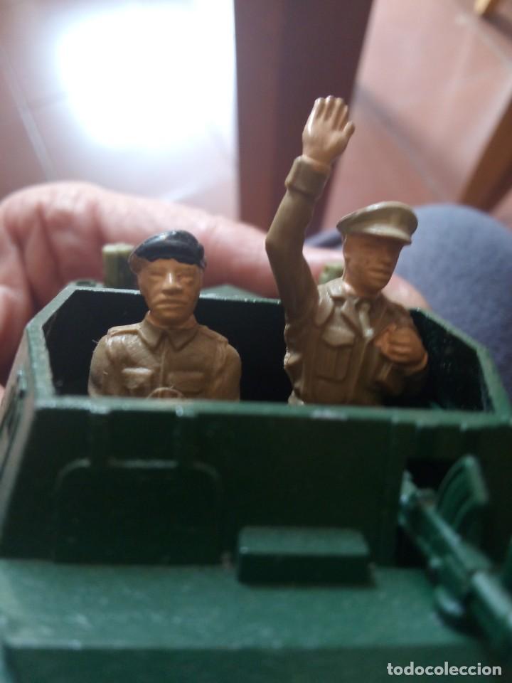 Figuras de Goma y PVC: Britains ltd Scout car MkII / BRITAINS DEETAIL - 1971 - SCOUT CAR DAIMLER MKII / BRITAINS INGLESES - Foto 5 - 254694050