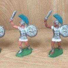 Figurines en Caoutchouc et PVC: GRANDES BATALLAS DEL MUNDO. ROMANOS CONTRA CARTAGINESES. IBEROS. GBM. AÑOS 60. BATALLA DE ZAMA. Lote 254718450