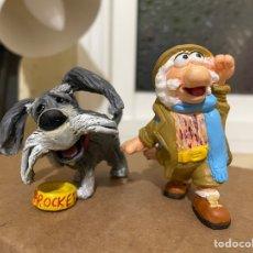 Figuras de Goma y PVC: MATT Y SPROCKET FRAGGLE ROCK MUÑECOS. Lote 254720115