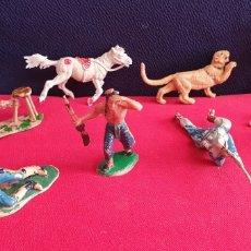 Figuras de Goma y PVC: LOTE FIGURAS DE PLASTICO TAL CUAL COMO SE VE EN FOTOS. Lote 254733525