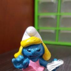 Figuras de Goma y PVC: PITUFINA PVC. Lote 254759745