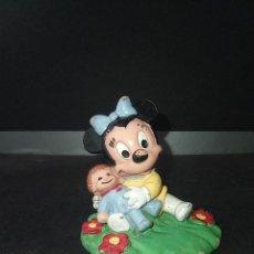 Figuras de Goma y PVC: FIGURA MINNIE BABY BEBE - WALT DISNEY 1987 BULLY PVC. Lote 254918385