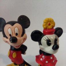 Figuras de Goma y PVC: FIGURAS CLASICOS DISNEY (MICKEY, MINNIE) - DISNEY PVC - BULLY Y DISNEY STORE. Lote 254923555