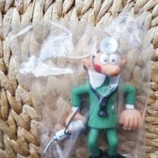 Figuras de Goma y PVC: MORTADELO DOCTOR MEDICO FIGURA PVC COMICS SPAIN CATALONIA PRESS CON GAFAS AÑOS 80 NUEVO BRUGUERA. Lote 254983515