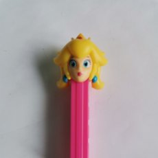 Dispensador Pez: DISPENSADOR PEZ PRINCESA PEACH SUPER MARIO. Lote 255019990