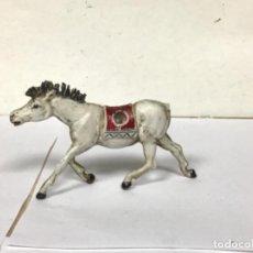 Figuras de Goma y PVC: FIGURA CABALLO TEIXIDO GOMA OESTE INDIO WESTERN COWBOY NO PECH COMANSI REAMSA JECSAN. Lote 255132205