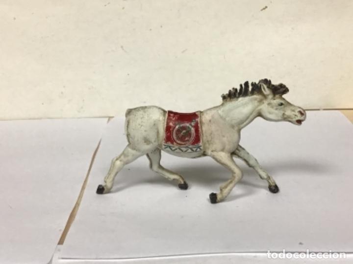 Figuras de Goma y PVC: FIGURA CABALLO TEIXIDO GOMA OESTE INDIO WESTERN COWBOY NO PECH COMANSI REAMSA JECSAN - Foto 2 - 255132205