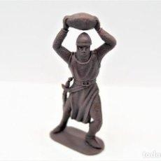 Figuras de Borracha e PVC: ANTIGUA FIGURA EN PLÁSTICO. SERIE CRUZADOS DE JECSAN. AÑOS 70.. Lote 255379570