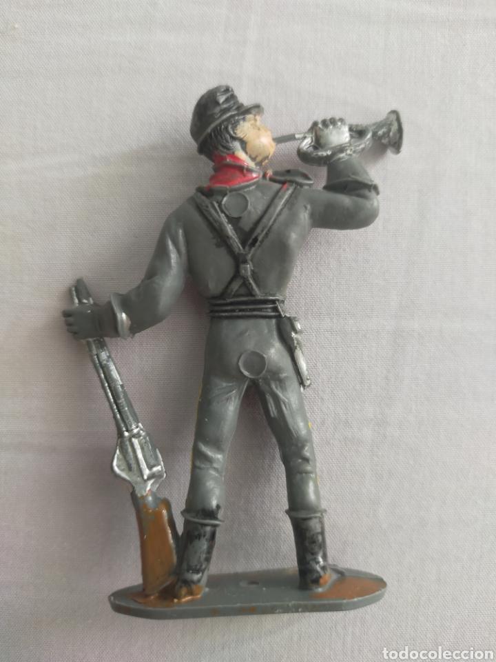 Figuras de Goma y PVC: Comansi soldado confederado - Foto 2 - 255410295