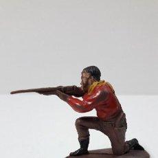 Figuras de Goma y PVC: VAQUERO - COWBOY EN POSICION DE DISPARO . REALIZADO POR PECH . SERIE PEQUEÑA . AÑOS 50 EN GOMA. Lote 255414605