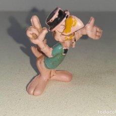 Figuras de Goma y PVC: PECH HERMANOS : ANTIGUA FIGURA DE GOMA DE JOSE CARIOCA LOS 3 CABALLEROS DISNEY AÑOS 50. Lote 255423835