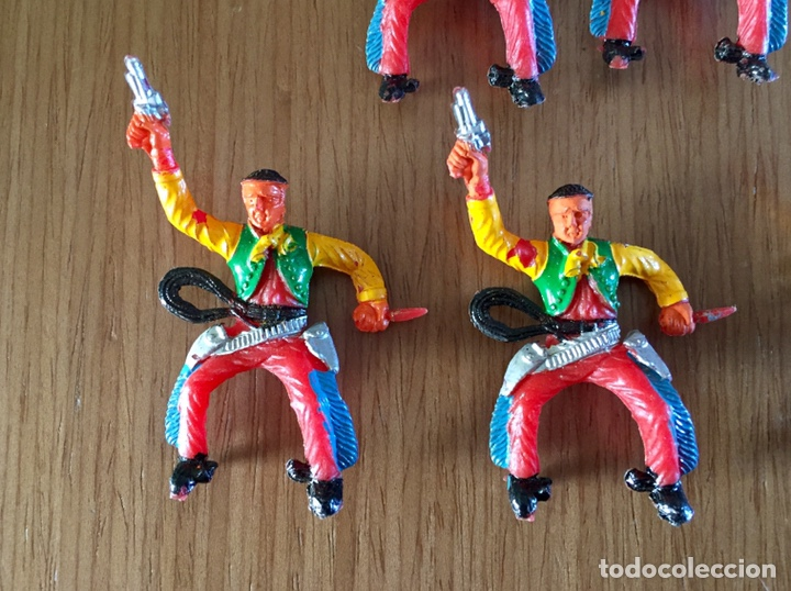 Figuras de Goma y PVC: Lote de vaqueros. M. Sotorres - Foto 2 - 255518100