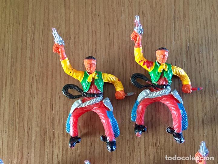 Figuras de Goma y PVC: Lote de vaqueros. M. Sotorres - Foto 3 - 255518100