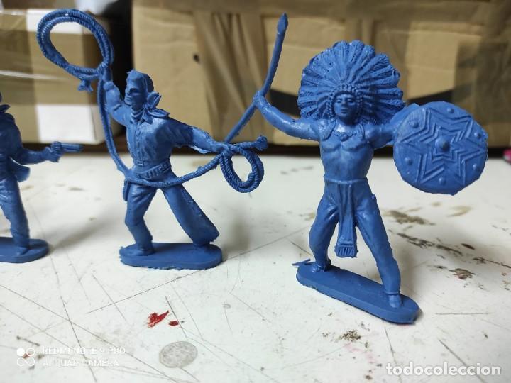 Figuras de Goma y PVC: Figuras oeste comansi primera época de almacén difíciles - Foto 2 - 255920590