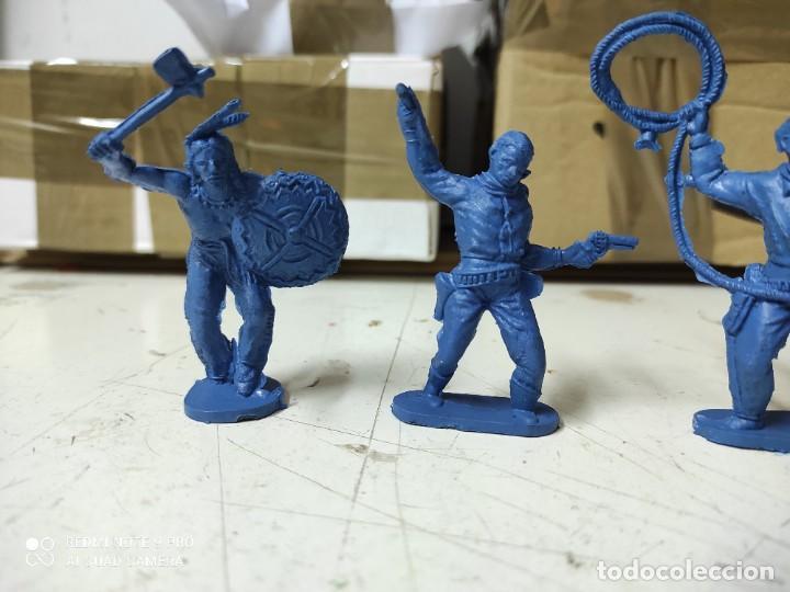 Figuras de Goma y PVC: Figuras oeste comansi primera época de almacén difíciles - Foto 3 - 255920590