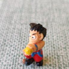 Figuras de Goma y PVC: DRAGON BALL FIGURA GOKU DUNKIN YOLANDA BOLA DE DRAGON 1986. Lote 255987120