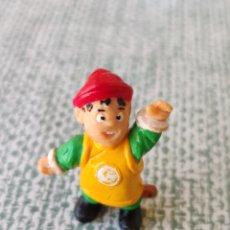Figuras de Goma y PVC: DRAGON BALL FIGURA GOHAN DUNKIN YOLANDA BOLA DE DRAGON 1986. Lote 255987610