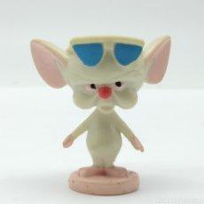 Figuras de Goma y PVC: RATÓN CEREBRO DE LA SERIE DE DIBUJOS ANIMADOS ''PINKY Y CEREBRO'' DE STEVEN SPIELBERG. Lote 255996170