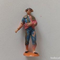 Figuras de Goma y PVC: FIGURA TORERO PECH HNOS AÑOS 60. Lote 256055085