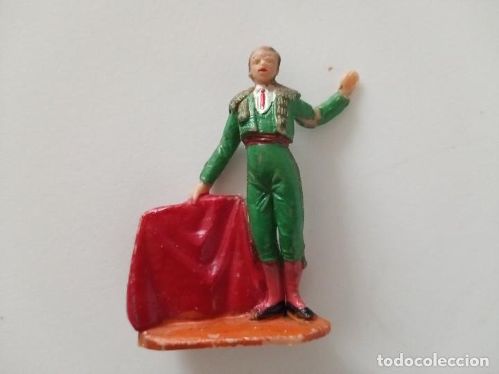 FIGURA TORERO PECH HNOS AÑOS 60 (Juguetes - Figuras de Goma y Pvc - Pech)