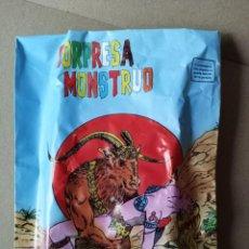 Figuras de Goma y PVC: SOBRE MONSTRUO -EXCLUSIVAS LEO, EL PAPIOL -SOBRE ABIERTO PERO COMPLETO -VER FOTOS. Lote 257357500