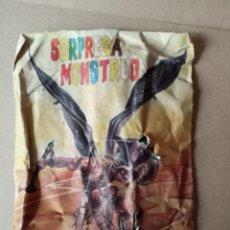 Figuras de Goma y PVC: MONSTRUO SOBRE CERRADO- BESTIA ALADA, PATA-PALO, EXCLUSIVAS LEO, EL PAPIOL. Lote 257358150