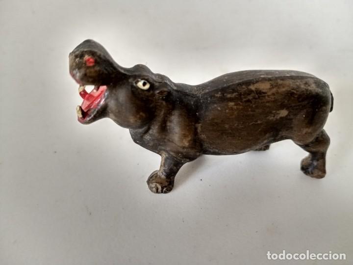 FIGURA HIPOPÓTAMO SOTORRES (Juguetes - Figuras de Goma y Pvc - Sotorres)