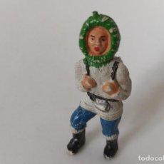 Figuras de Goma y PVC: FIGURA ESQUIMAL SOTORRES. Lote 257522375