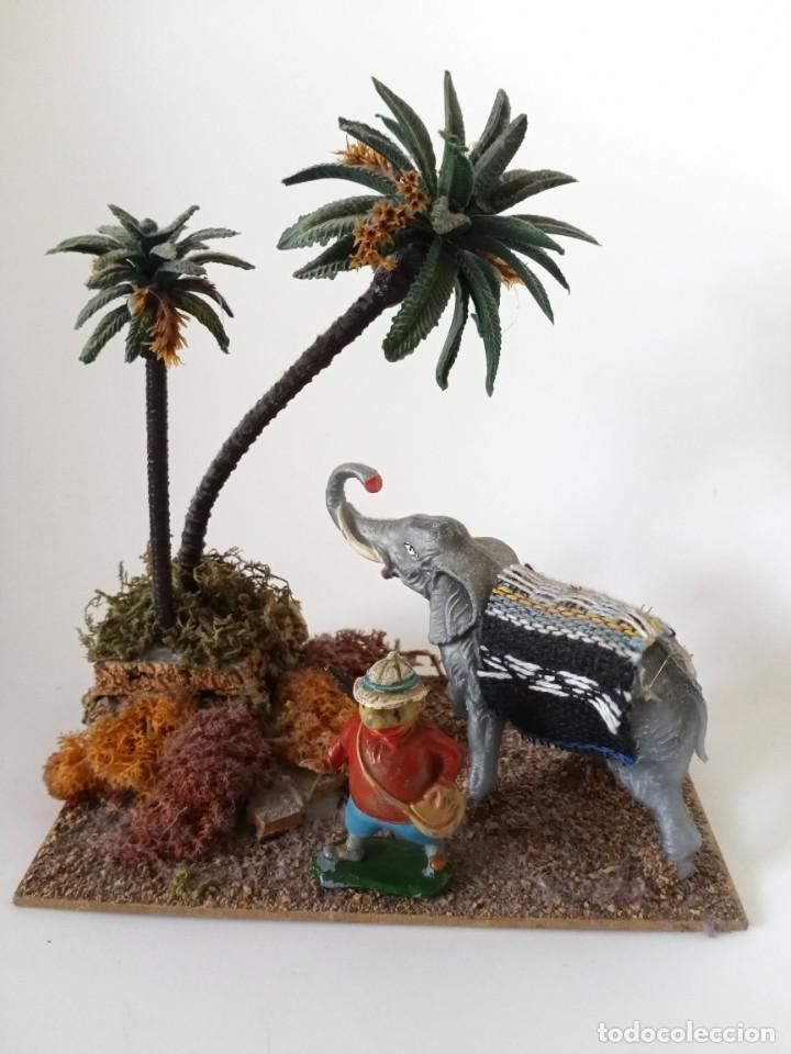 FIGURAS DIORAMA BABALI, CAZADOR (Juguetes - Figuras de Goma y Pvc - Teixido)