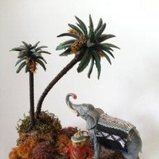 Figuras de Goma y PVC: FIGURAS DIORAMA BABALI, CAZADOR. Lote 257534420
