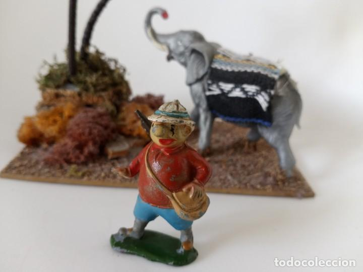 Figuras de Goma y PVC: Figuras diorama Babali, cazador - Foto 2 - 257534420