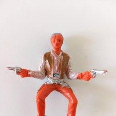 Figuras de Goma y PVC: FIGURA VAQUERO COMANSI CHAPARRAL. Lote 257543465