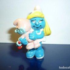 Figuras de Goma y PVC: FIGURA PITUFINA - SCHLEICH. Lote 257548170