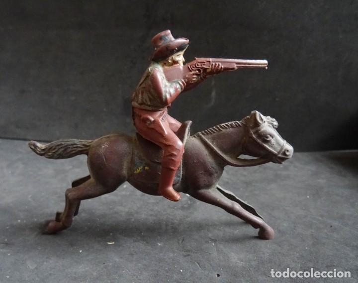 REAMSA COWBOY A CABALLO GOMA (Juguetes - Figuras de Goma y Pvc - Reamsa y Gomarsa)