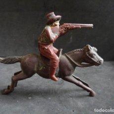 Figuras de Goma y PVC: REAMSA COWBOY A CABALLO GOMA. Lote 257552100
