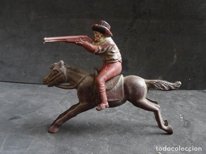 Figuras de Goma y PVC: REAMSA COWBOY A CABALLO GOMA - Foto 2 - 257552100