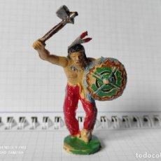 Figuras de Goma y PVC: FIGURAS COMANSI PRIMERA EPOCA PVC OESTE INDIOS VAQUEROS. Lote 257586165