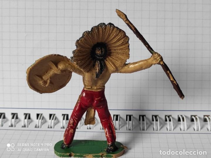 Figuras de Goma y PVC: Figuras comansi primera epoca pvc oeste indios vaqueros - Foto 2 - 257586285