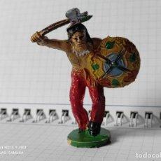 Figuras de Goma y PVC: FIGURAS COMANSI PRIMERA EPOCA PVC OESTE INDIOS VAQUEROS. Lote 257586400