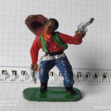 Figuras de Goma y PVC: FIGURAS COMANSI PRIMERA EPOCA PVC OESTE INDIOS VAQUEROS. Lote 257586515