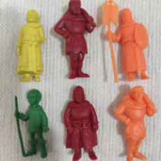 Figuras de Goma y PVC: LOTE DE 6 FIGURAS RUY RUI EL PEQUEÑO CID PROMOCIÓN DANONE TIPO DUNKIN PREMIUM FIGURA PROMOCIONAL. Lote 257602935