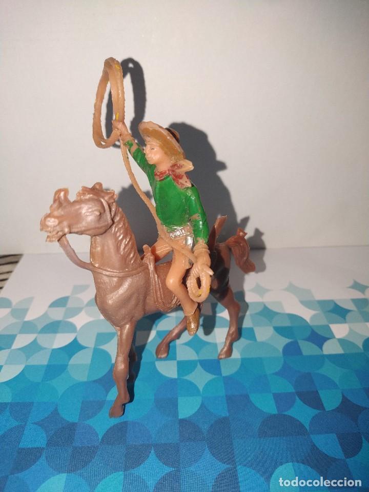 Figuras de Goma y PVC: Figura vaquero ( Pech, comansi, reamsa...) - Foto 2 - 257726540