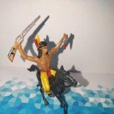 Figuras de Goma y PVC: FIGURA INDIO LAFREDO, COMANSI, JESCAN REAMSA.... Lote 257726720