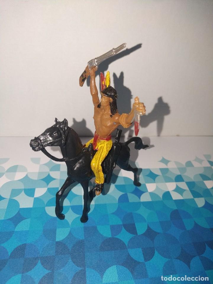 Figuras de Goma y PVC: Figura Indio Lafredo, comansi, jescan reamsa... - Foto 2 - 257726720
