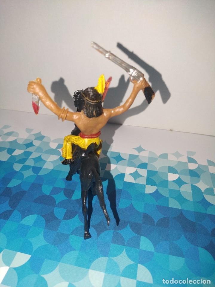 Figuras de Goma y PVC: Figura Indio Lafredo, comansi, jescan reamsa... - Foto 3 - 257726720